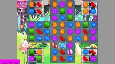 Candy Crush Saga level 967 No Boosters