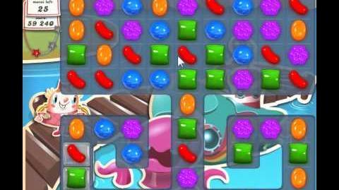 Candy Crush Saga Level 133 - 2 Star - no boosters
