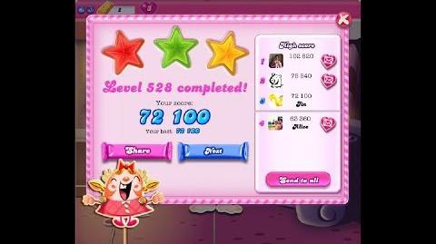 Candy Crush Saga Level 528 ★★★ NO BOOSTER