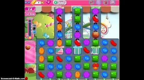 Candy Crush Saga Level 586 Walkthrough No Booster