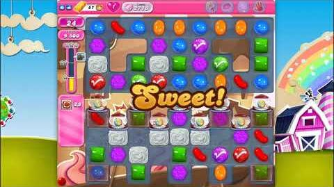 Candy Crush Saga - Level 2718 - No boosters ☆☆☆