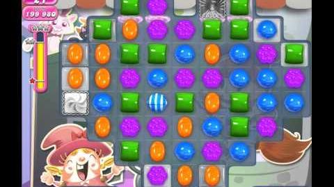 Candy Crush Saga Level 1100 (No booster, 3 Stars)