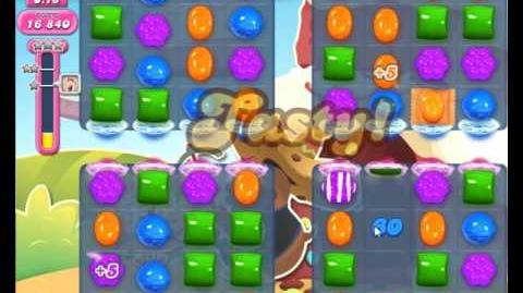 Candy Crush Saga Level 1644 Hard Level NO BOOSTER (2nd Version + 3 Stars)