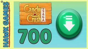 Candy Crush Saga Level 700 (Ingredients level) - 3 Stars Walkthrough, No Boosters