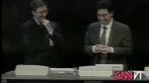 Bill Gates Gets a Blue Screen of Death