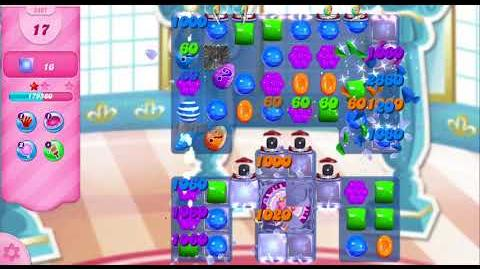 Candy Crush Saga Level 2897 NO BOOSTERS