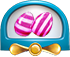 Striped candy cannon new