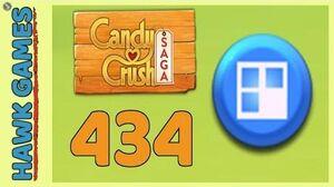 Candy Crush Saga Level 434 (Jelly level) - 3 Stars Walkthrough, No Boosters