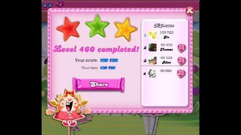 Candy Crush Saga Level 460 ★★★ NO BOOSTER