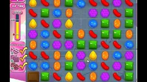 How to beat Candy Crush Saga Level 254 - 2 Stars - No Boosters - 83,500pts