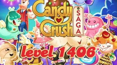 Candy Crush Saga Level 1406