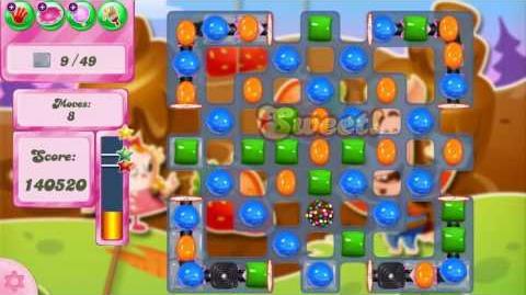 Candy Crush Saga Level 2609 NO BOOSTERS