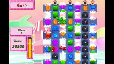 Candy Crush Saga Level 2796 One Hammer 3Star 2700plus Group Redesigned 151017