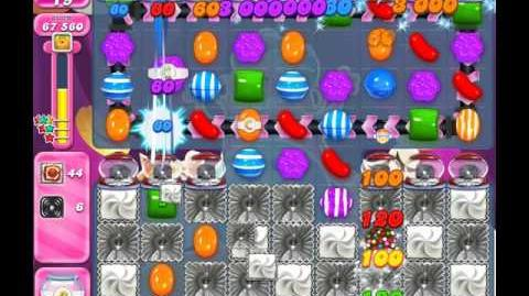 Candy Crush Saga Level 1998 ( New with 6 Licorice Swirls Order ) No Boosters 3 Stars