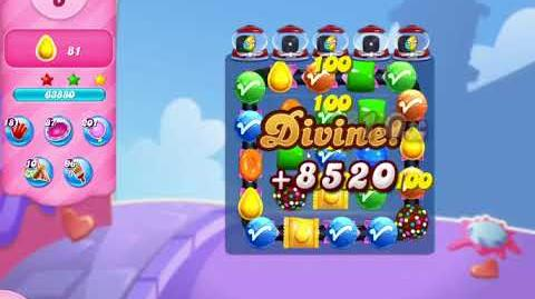Candy Crush Saga Level 3104 NO BOOSTERS (20 moves)