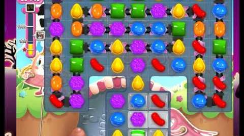 Candy Crush Saga level 728 (no boosters)