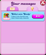 Weekend Event - Your messages 150704