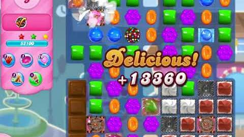 Candy Crush Saga Level 2945 NO BOOSTERS (16 moves)