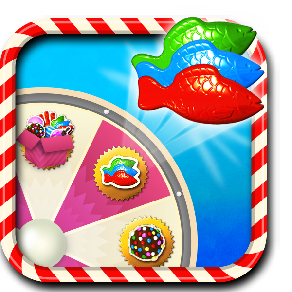Image jelly fish booster wheel candy crush for Candy crush fish