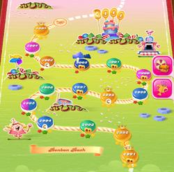 Bonbon Bash HTML5 Map