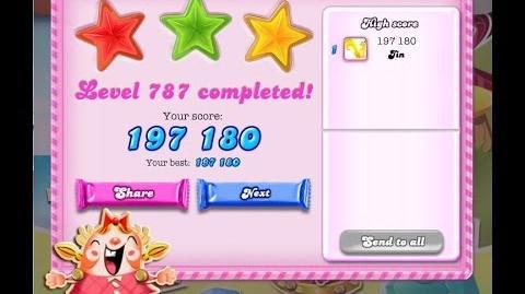 Candy Crush Saga Level 787 ★★★ NO BOOSTER