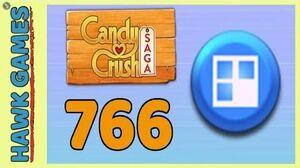 Candy Crush Saga Level 766 (Jelly level) - 3 Stars Walkthrough, No Boosters