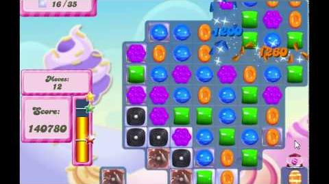 Candy Crush Saga Level 2767 NO BOOSTERS (17 moves)