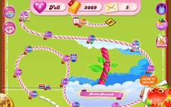 Bonbon Beanstalk Map Mobile