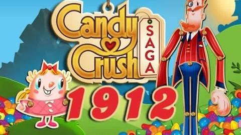 Candy Crush Saga Level 1912