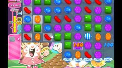 Candy Crush Saga Level 1344 ( New with 42 Moves ) No Boosters 3 Stars