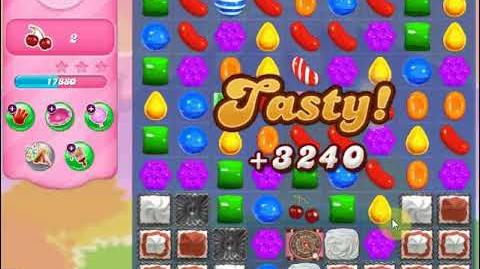 Candy Crush Saga Level 1346 Walkthrough - No Boosters - *** 3 Stars - 19 Moves Left