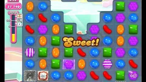 Candy Crush Saga Level 1822 NO BOOSTER (2nd Version - Added Extra Time Candy Cannon + 3 Stars)