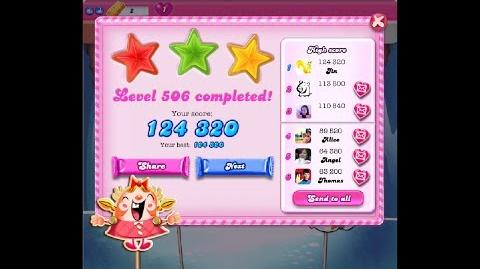 Candy Crush Saga Level 506 ★★★ NO BOOSTER