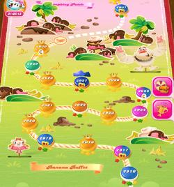 Banana Buffet HTML5 Map