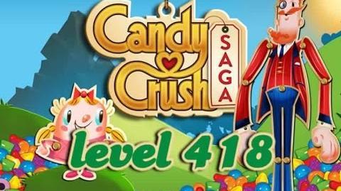 Candy Crush Saga Level 418 - ★★★ - 335,960