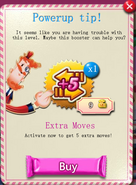 Extra moves powerup tip