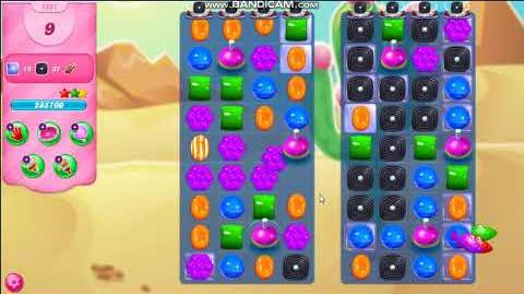 Candy Crush Saga - Mixed Mode - Jelly Order - Tested on Level 1551 (OFFICIAL RELEASE AT LEVEL 3807)