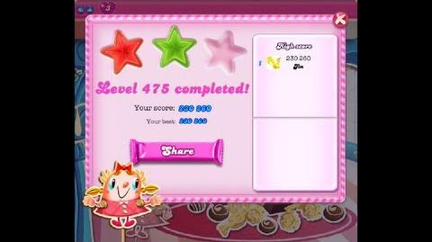 Candy Crush Saga Level 475 ★★ NO BOOSTER