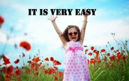 It's easy
