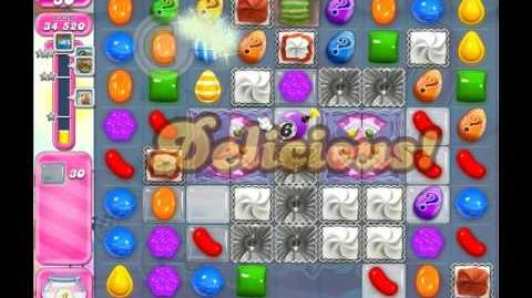 Candy Crush Saga Level 1128 ( New with 42 Moves ) No Boosters 3 Stars