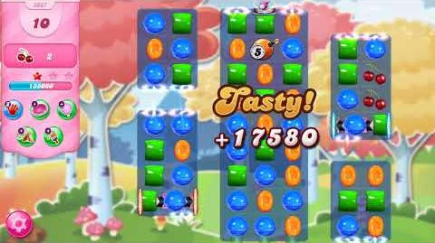Candy Crush Saga Level 3037 NO BOOSTERS (fourth version)