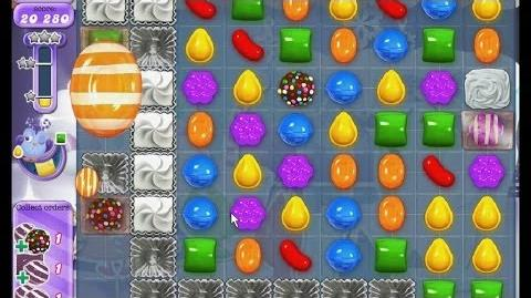 Candy Crush Saga Dreamworld Level 257 - 3 Stars NB