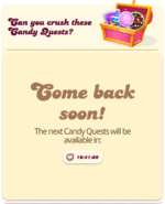 Candy Quests Coming Soon