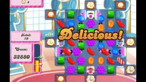 Candy Crush Saga Level 2658 New 32 Moves