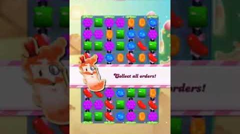Candy Crush Level 1559 (30 moves, 30 striped, 5 candy colors)