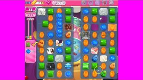 Candy Crush Saga Level 2000 ~ no boosters