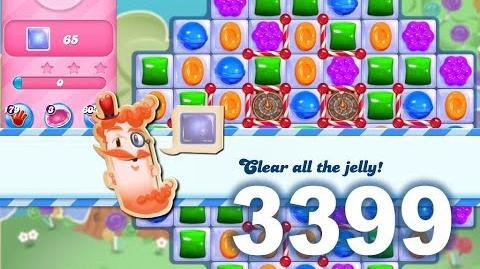 Candy Crush Saga Level 3399 (3 stars, No boosters)