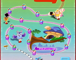Taffy Treetops Map