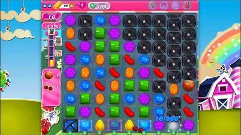 Candy Crush Saga - Level 196 - No boosters ☆☆☆