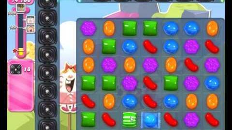 Candy Crush Saga Level 1666 NO BOOSTER (2nd Web Version)